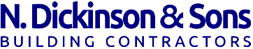 N. Dickinson & Sons Building Contractors Logo